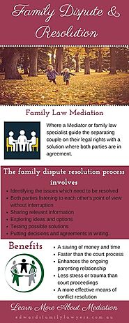Family Law Mediation & Dispute Resolution Frequently • r/Infographics