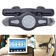 Cage Sents Universal 360° degree adjustable Rotating Tablet Car back seat Headrest holder Grip Mount for apple iPad, ...