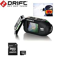 "Drift HD GHOST Wi-Fi Full 1080p Wearable Action Camera with Built-In 2"" Gorilla Glass LCD Screen + Drift Wireless Rem..."