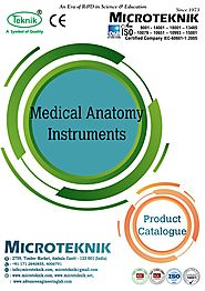 Medical anatomy Instruments Manufacturer From India