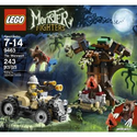 Amazon.com: LEGO Monster Fighters 9463 The Werewolf: Toys & Games