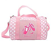 Quilted Dance Ballet Duffle Bag for girls