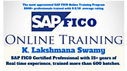 SAP FICO Online Training - K Lakshmana Swamy