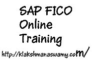 SAP FICO Online Training by industry Expert!