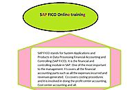 SAP FICO Training Online At your convenience!