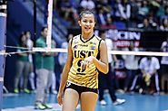 EJ Laure ( UST Gloden Tigresses )
