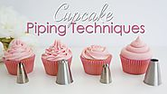 Cupcake Piping Techniques Tutorial