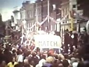 GB Foam Vans at the 1977 Queen's Jubilee Street Procession in High Wycombe (42 seconds in)