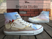 Anime Totoro Shoes Studio Hand Painted Shoes 52Usd,Paint On Custom Converse Shoes Only 90Usd,Buy One Get One Phone Ca...