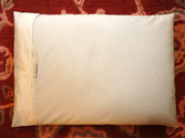 20X26 Organic Cotton Buckwheat Hull Pillow w 8lbs of Buckwheat Hulls and Optional Custom Cover