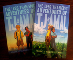 The Less Than Epic Store - TJ & Amal Volumes 1 & 2 Graphic Novel Bundle