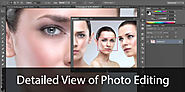 Detailed View of Photo Editing in Adobe Photoshop CS6 - Photography tips and tutorial for photo editors