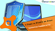 4 Steps to Disable an Avast Antivirus Temporarily