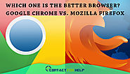 Which One is the Better Browser? Google Chrome vs. Mozilla Firefox