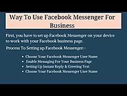 How Can I Use Facebook Messenger For Business