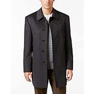 Go Stylish Way With Latest Herringbone Overcoat
