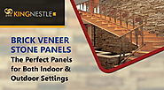 Brick Veneer Stone Panels The Perfect Panels for Both Indoor And Outdoor Settings