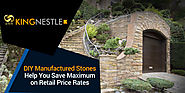 DIY Manufactured Stones Help You Save Maximum on Retail Price Rates