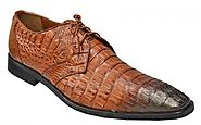 Get Exotic Los Altos Men's Shoes From Online Alligator Mall