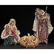 "48"" Fontanini Holy Family Lighted Nativity Christmas Yard Art"