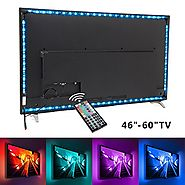TV backlight , Nexlux LED TV Lights USB Kit 5050 RGB Multicolor Back Lightings Strip with 44-key IR Remote Controller...