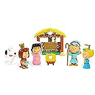 Peanuts Christmas Nativity Deluxe Figure Set