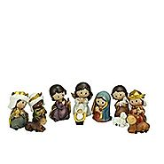 Northlight 11-Piece Multi-Color Children's First Religious Nativity Figurine Set 3.5""