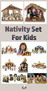Nativity Set For Kids
