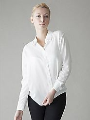 The Importance Of White Wrap Blouse – Wear Vaughan – Medium