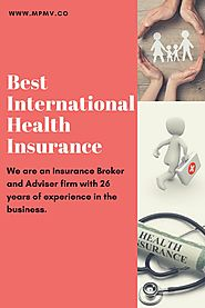 Get International Health Insurance Plans Worldwide