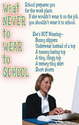 (c04) Poster #195- Job, Dress Code School Poster