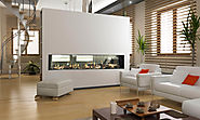 Flare See Through Modern Fireplaces | Linear Fireplaces | Flare Fireplaces