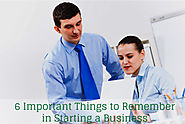 6 Important Things to Remember in Starting a Business | Unified Accounting & TAX