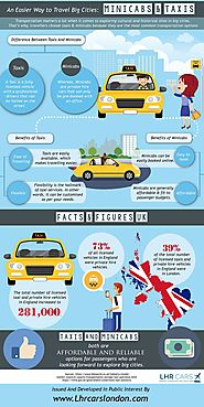 An Easier Way to Travel Big Cities- Minicabs & Taxis
