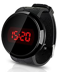 iMounTEK LED Silicone Touch Screen Circular Water Resistant Casual Fashion Sport Digital Wrist Watch. Great for Boys,...