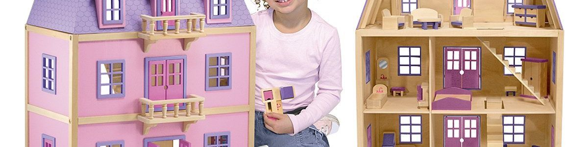 Headline for Top 10 Best Melissa & Doug Dollhouses Reviews 2017-2018