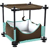 Kitty City 17'' Sleeper Steel Cat Condo