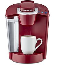 Keurig K55 Single Serve Programmable K-Cup Pod Coffee Maker (Rhubarb)