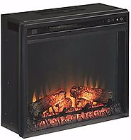 Ashley Furniture Signature Design - Small Electric Fireplace Insert - Includes Insert Only - TV Stand Sold Separately...