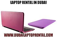Laptop Rental in Dubai- Call +971-50-7559892