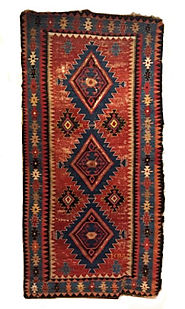 Best Antique Caucasian Kilim Rugs New York