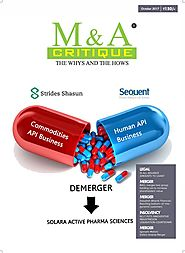 M&A Critique - October Magazine