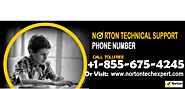 Norton Phone Number 1-855-675-4245 | technical help