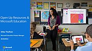 Open Up Resources and Office 365 Education