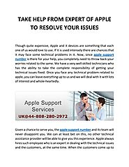 Take help from expert of apple to resolve your issues by Chris Voks - issuu