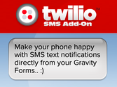 Gravity Forms Add-Ons | Twilio Add-On