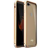 Apple iPhone 8 Plus - Zizo ATOM Case w/ Tempered Glass Screen Protector and Airframe Grade Aluminum - Gold
