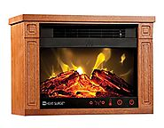 Heat Surge Mini Glo Efficiency Plus Touch in Dark Oak