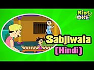 Hindi animated Rhymes for Kids - Sabjiwala - KidsOne