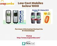 Low Cost Mobiles below 1000